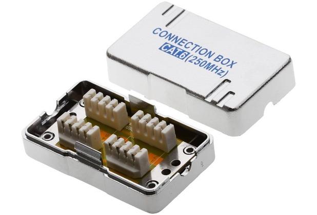 Helos CAT 6 Verbindungsmodul f. Installationskabel