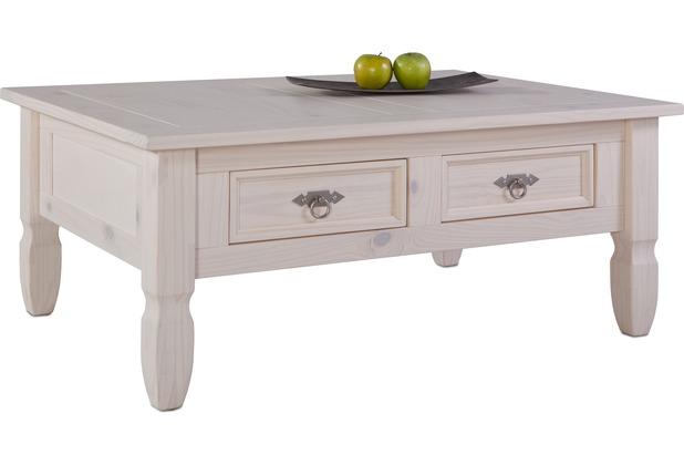 Henke Möbel Couchtisch 107 x 46 x 77 cm weiß