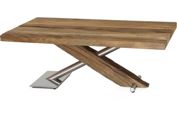 Henke Möbel Couchtisch Eiche-Altholz 110 x 70 cm