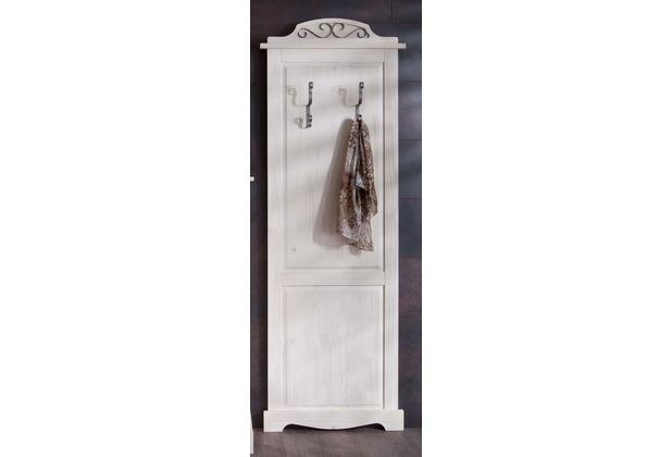 Henke Möbel Garderobenpaneel 68 x 195 x 7 cm weiß