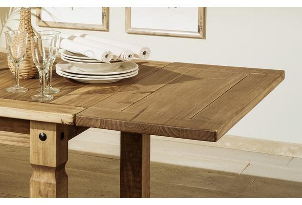 Henke Möbel Paar Ansteckplatten zu Tisch 152 cm und 190 cm