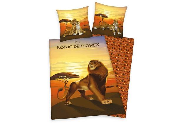 Herding Disney\'s König der Löwen Renforcé Bettwäsche, 135x200 cm