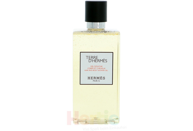 Hermes Terre D\' Hair And Body Shower Gel 200 ml