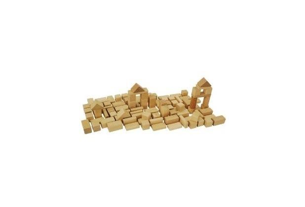 HEROS 100050131 - Natur Holzbausteine 50