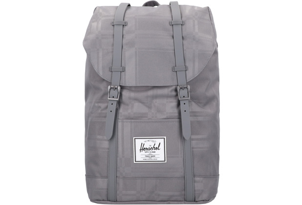 Herschel Retreat Rucksack 42 cm Laptopfach quiet shade plaid