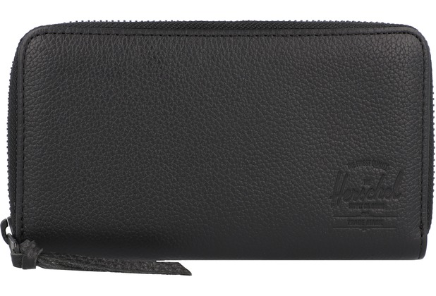 Herschel Thomas Geldbörse RFID 17 cm black pebbled leather