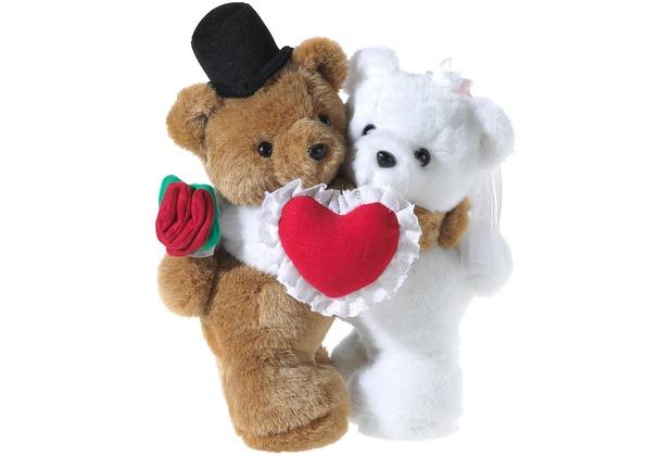 Heunec BÄREN-Paar Hochzeit mit Herz 30 cm