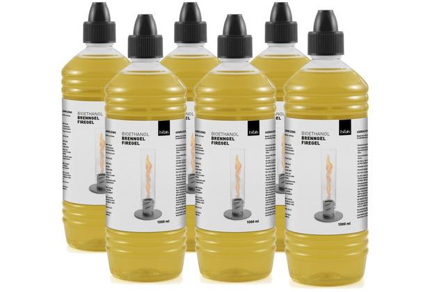 höfats SPIN Bioethanol 1l Flasche ( 6er Pack)
