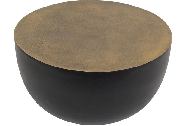 Holländer Beistelltisch GRAL gold-schwarz