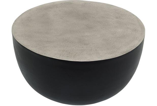 Holländer Beistelltisch GRAL silber-schwarz