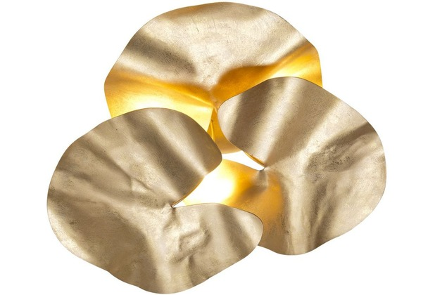 Holländer Deckenleuchte 4-flg. CONTROVERSIA gold