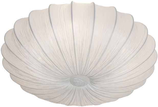 Holländer Deckenleuchte 4-flg. SULTANO GRANDE Baumwolle weiß - 2-lagig - schmutzabweisend ausgerüstet