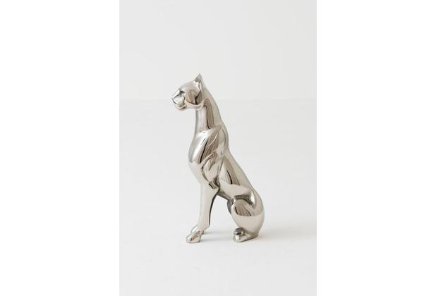 Holländer Dekofigur GIAGUARO Aluminium poliert silber