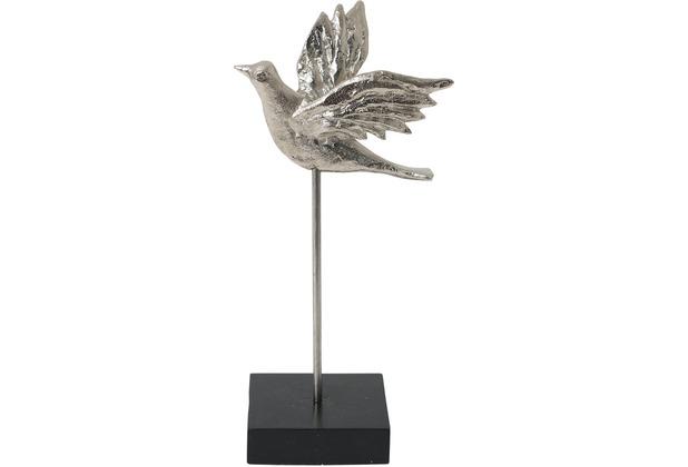 Holländer Figur TORDO Aluminium silber - Holz schwarz