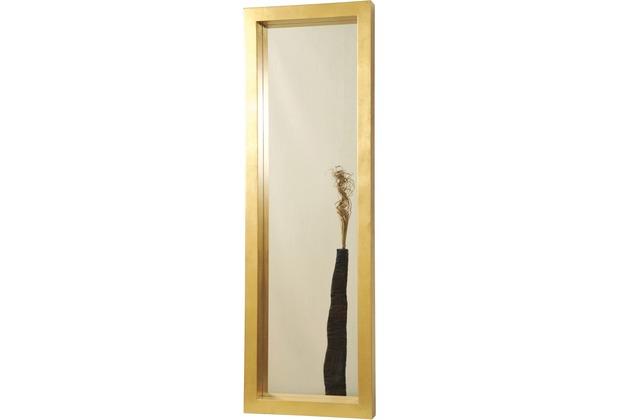 Holländer Spiegel CLASSICO AMERIKA GRANDE Rahmen Holz MDF mit Blattgold - Spiegelglas