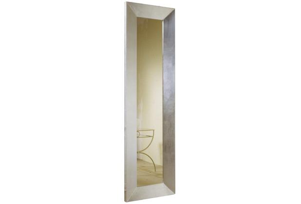 Holländer Spiegel CLASSICO LONGO Rahmen Holz MDF mit Blattsilber - Spiegelglas