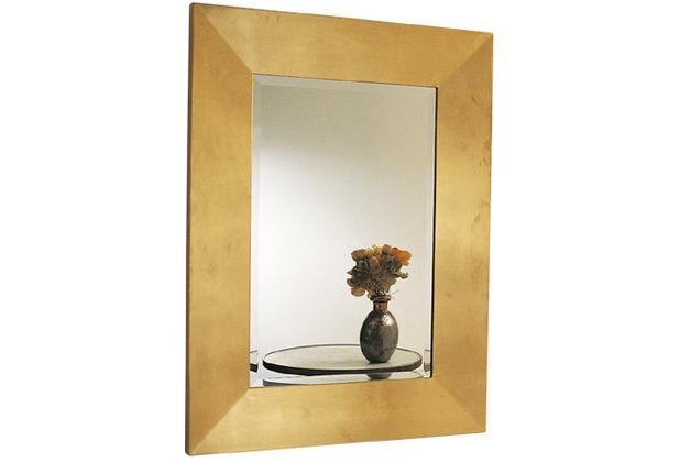 Holländer Spiegel CLASSICO MEDIUM Rahmen Holz MDF mit Blattgold - Spiegelglas
