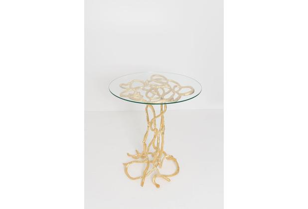Holländer Tisch CONTESSA Aluminium gold