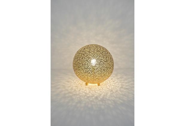 Holländer Tischleuchte 1-flg. LILY GRANDE Eisen gold