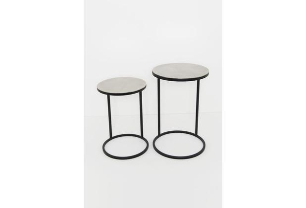 Holländer Tischset 2-tlg VISITATORE silber