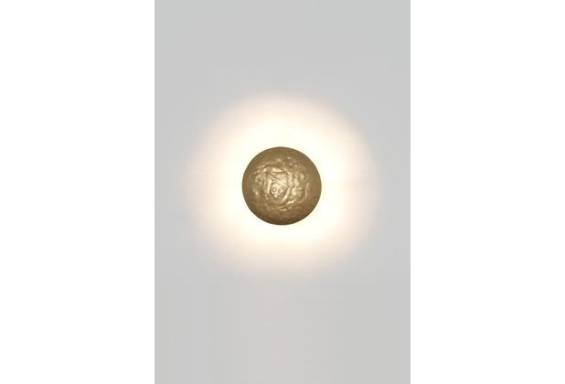 Holländer Wandleuchte 1-flg. GIALLO gold