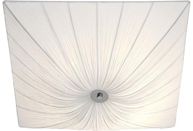 Holländer Wandleuchte 4-flg. SULTANO MEDIUM Baumwolle weiß - 2-lagig - schmutzabweisend ausgerüstet