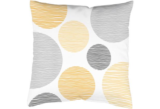 Home Wohnideen Kissenhülle Digitaldruck Borden Gelb 40 x 40 cm