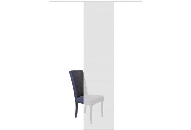 "Home Wohnideen Schiebevorhang Bambus-optik \""rom\"" Grau 260 x 60 cm"