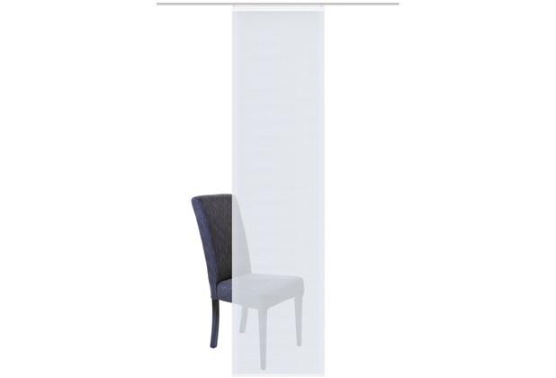"""Home Wohnideen Schiebevorhang Bambusoptik Uni \""""sieglinde\"""" Wollweiss 245 x 60 cm"""