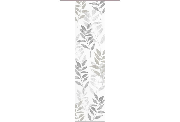 """Home Wohnideen Schiebevorhang Digitaldruck Bambus-optik \""""cooper\"""" Stein 260 x 60 cm"""