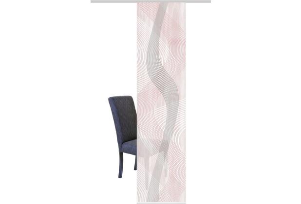"""Home Wohnideen Schiebevorhang Digitaldruck Bambus-optik \""""valesi\"""" Rose 260 x 60 cm"""