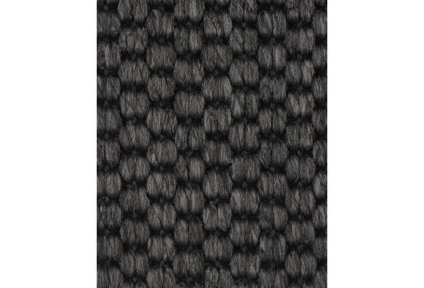 ilima Teppichboden Flachgewebe-Schlinge SOLERO/APPLAUSE anthrazit 400 cm breit