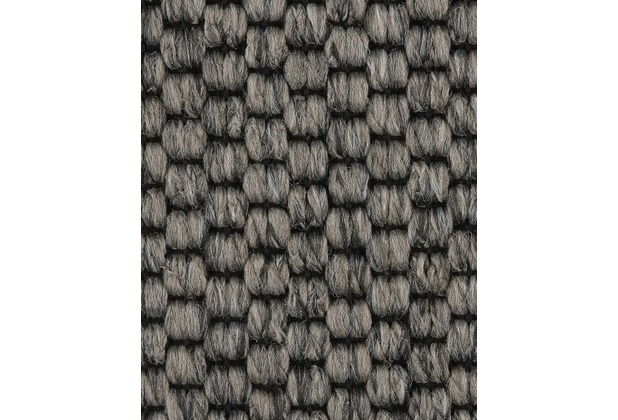 ilima Teppichboden Flachgewebe-Schlinge SOLERO/APPLAUSE dunkelgrau 400 cm breit