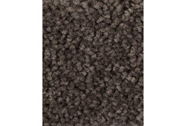 hometrend pamira priscilla teppichboden hochflor velours graubraun. Black Bedroom Furniture Sets. Home Design Ideas