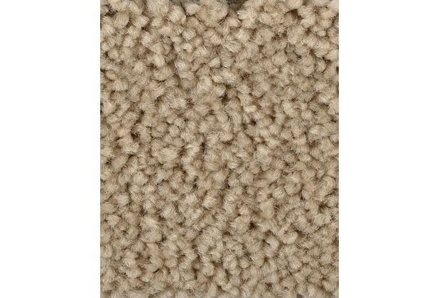 ilima Teppichboden Hochflor Velours PAMIRA/PRISCILLA sand/Beige 400 cm breit