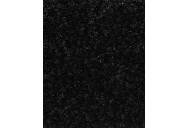ilima PAMIRA/PRISCILLA Teppichboden, Hochflor Velours, schwarz 400 cm breit