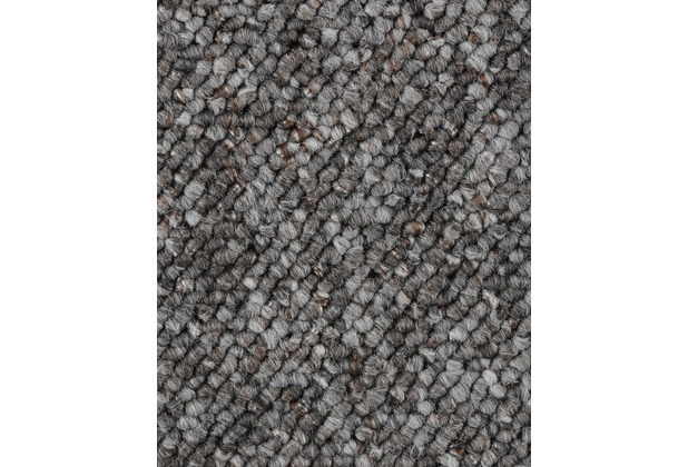 ilima Teppichboden Schlinge FLORENTINA/BUDDY dunkelgrau 200 cm breit