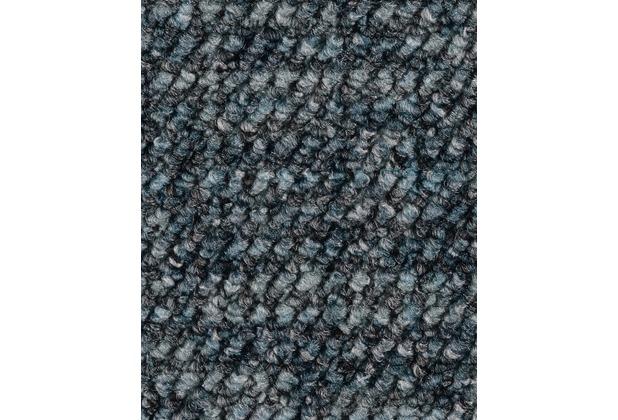 ilima Teppichboden Schlinge gemustert Aragosta blaugrau 400 cm