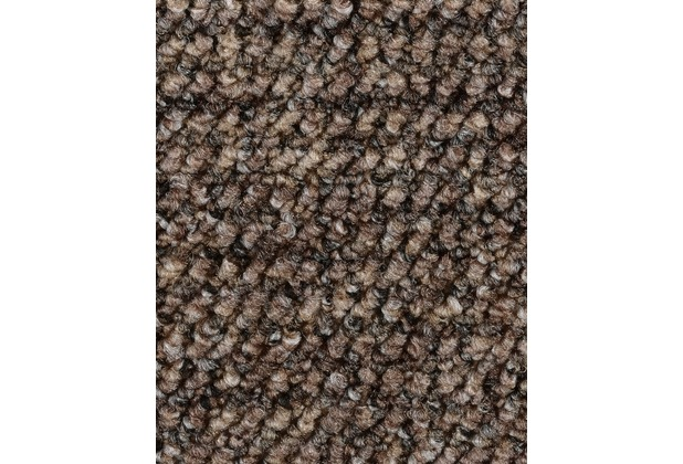 ilima Teppichboden Schlinge gemustert Aragosta braun 400 cm