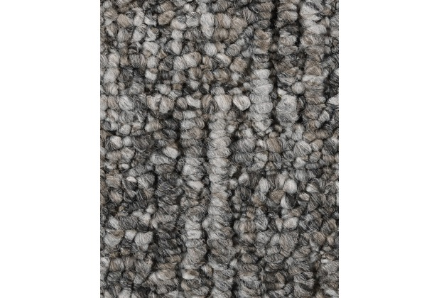 ilima Teppichboden Schlinge gemustert TAVIRA dunkelgrau 200 cm breit