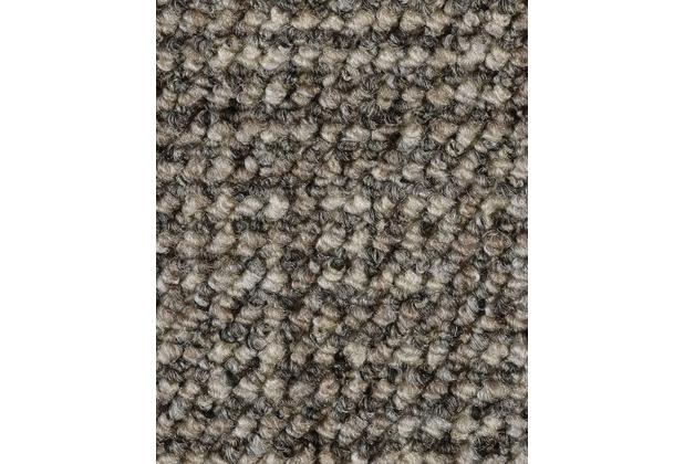 ilima Teppichboden Schlinge gemustert Aragosta grau/hellbraun 400 cm