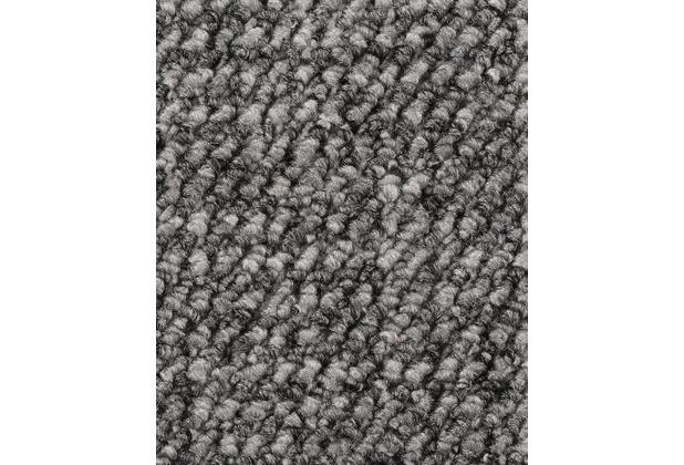 ilima Teppichboden Schlinge gemustert Aragosta grau 400 cm