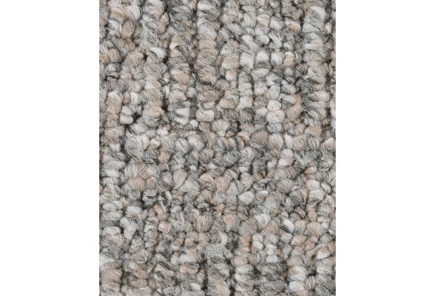 ilima Teppichboden Schlinge gemustert Alaska grau 200 cm