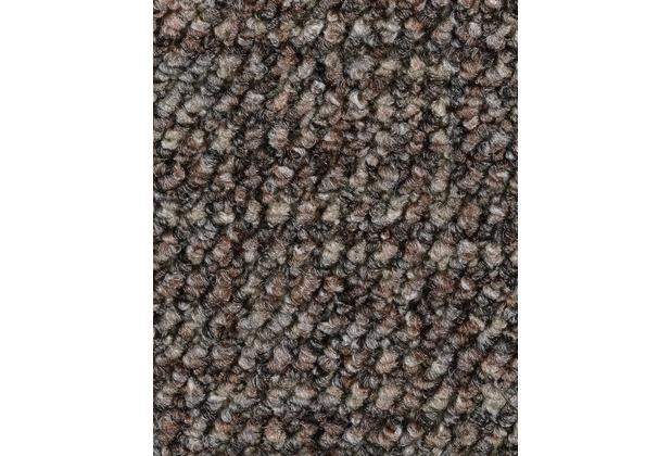 ilima Teppichboden Schlinge gemustert Aragosta grau/braun 400 cm