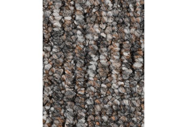 ilima Teppichboden Schlinge gemustert Alaska graubraun 200 cm