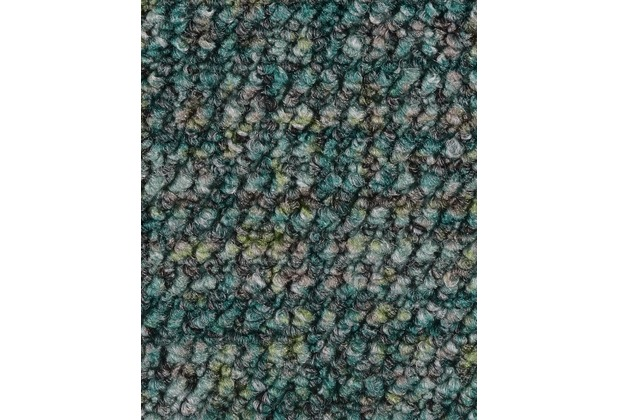 ilima Teppichboden Schlinge gemustert Aragosta Seegrün 400 cm