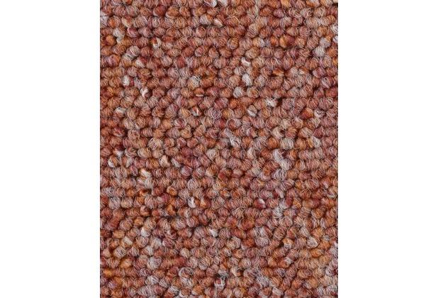 ilima Teppichboden Schlinge BARDINO/ROCKY rot meliert 400 cm breit