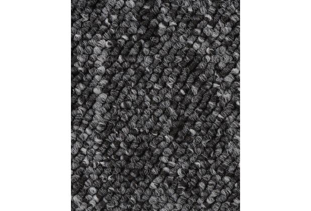 ilima Teppichboden Schlinge BARDINO/ROCKY schwarz meliert 400 cm breit