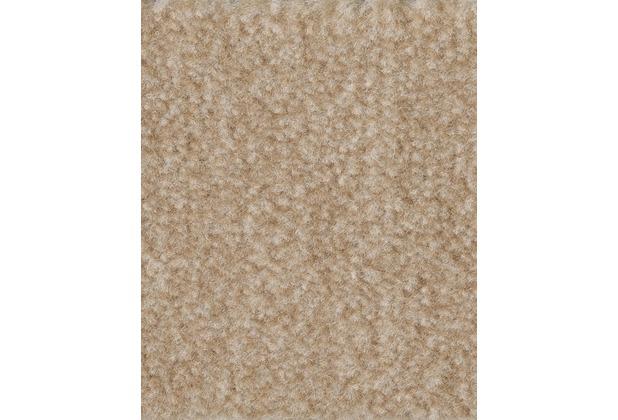 ilima Teppichboden Velours FLIRT/CABARET meliert beige/natur 400 cm breit