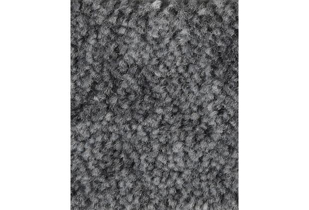 ilima Teppichboden Velours Dinora dunkelgrau meliert 400 cm